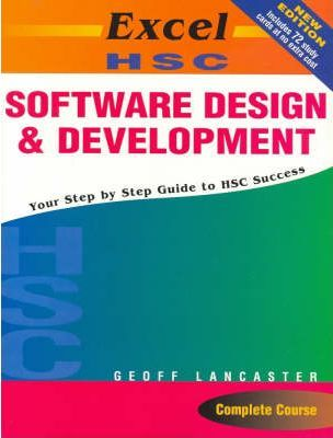 Excel Hsc Software Design And Development Includes Study Cards Geoff Lancaster 9781741251753
