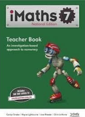 IMaths Teacher Book 7 (includes One Year Online Access)