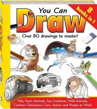 You Can Draw 8 in 1