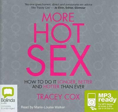 Hot sex and how to do it by tracey cox