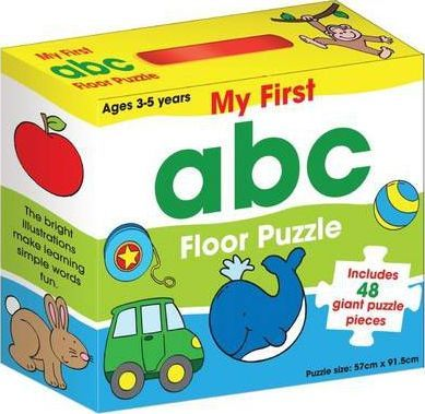 My First Abc Floor Puzzle Brimax 9781742483139