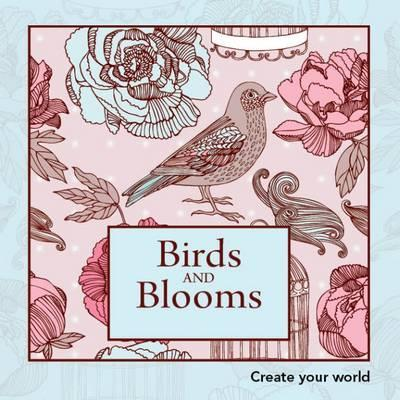 Colouring Book Birds And Blooms
