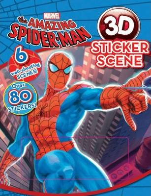 Amazing Spider-man 3D Sticker Scene