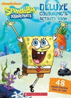 SpongeBob SquarePants Deluxe Colouring and Activity Book