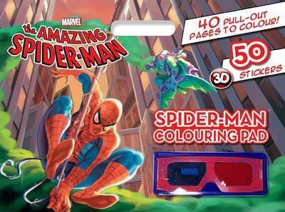 Amazing Spider-man Colouring Pad