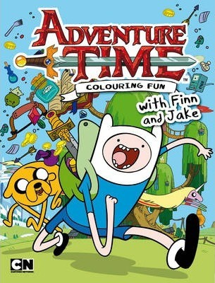 Adventure Time - Colouring Fun with Finn and Jake