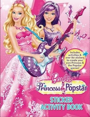 barbie princess and the popstar sticker activity book mattel inc