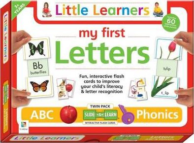My First Letters Abc and Phonics Flash Cards Twin Pack (Uk)