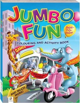 Jumbo Fun Colouring and Activity Town