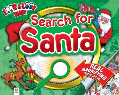 Search for Santa Look and Look Again (with Magnifying glass)