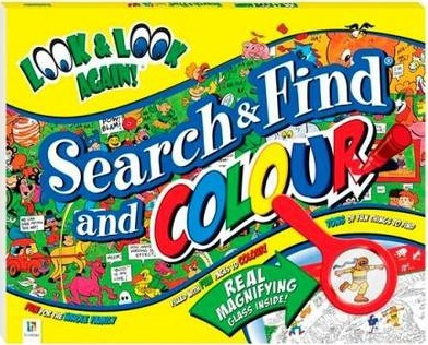 Look and Look Again Search and Find and Colour