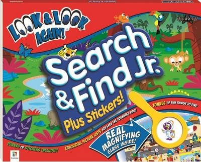 Look and Look Again Search and Find Junior Plus Stickers