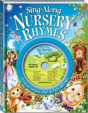 Sing-along Nursery Rhymes Book and Cd