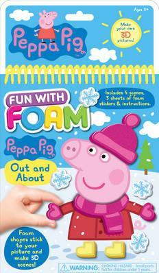 Peppa Pig Fun with Foam Out and About