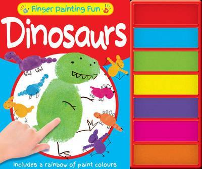 Finger Painting Fun - Dinosaurs