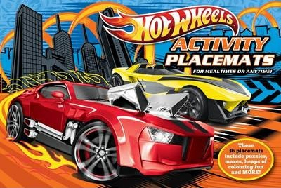 Hot Wheels Activity Placemats