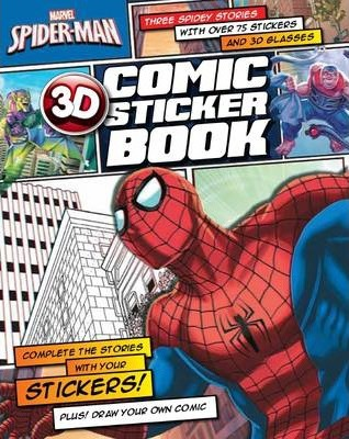 Spider-Man 3D Comic Sticker Book