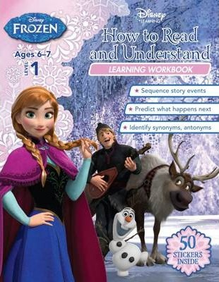 Disney Frozen - How to Read and Understand Learning Workbook