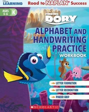 Disney Learning Workbook: Finding Dory Level K Alphabet and Handwriting Practice