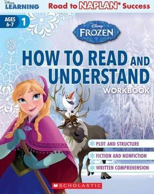 Disney Learning Workbook: Frozen Level 1 How to Read and Understand