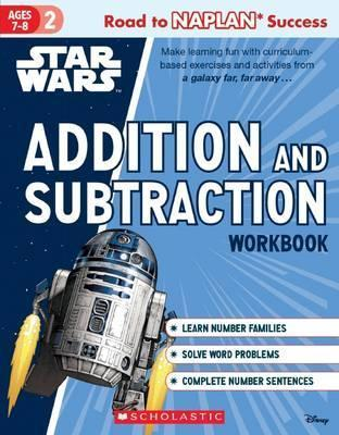 Star Wars Workbook: Level 2 Addition and Subtraction
