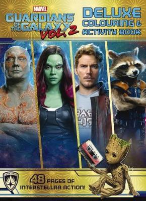 Marvel Guardians of the Galaxy Vol. 2: Deluxe Colouring & Activity Book