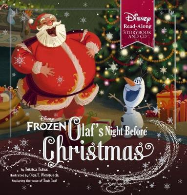Olaf's Night Before Christmas (Disney Frozen Book & CD)