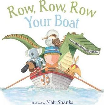 Row, Row, Row Your Boat - Aussie Nursery Rhymes