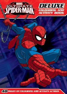 Marvel: Ultimate Spider-Man Deluxe Colouring and Activity Book