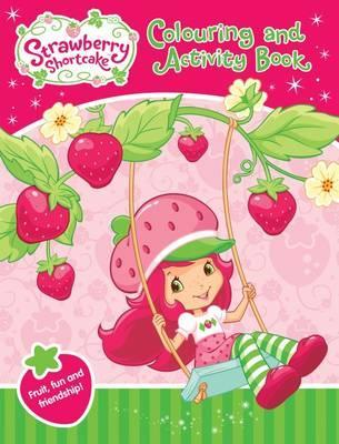 Strawberry Shortcake Colouring and Activity