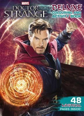 Marvel: Dr Strange Deluxe Colouring and Activity