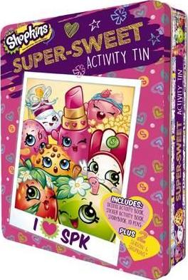 Shopkins Activity Tin