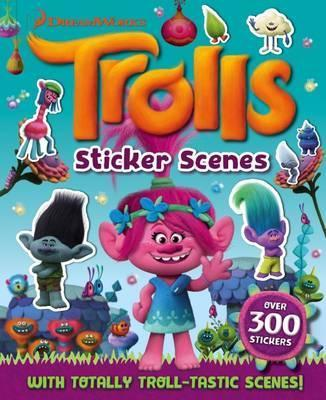 Trolls Sticker Scenes
