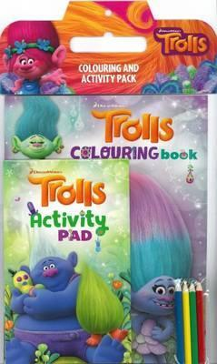 Trolls Colouring and Activity Pack