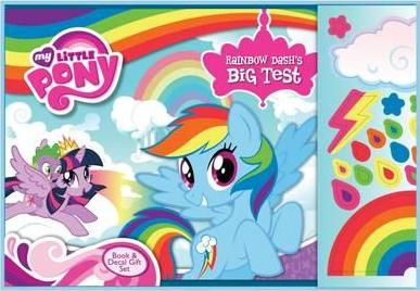 My Little Pony Rainbow Dash's Big Test Book & Decal Gift Set