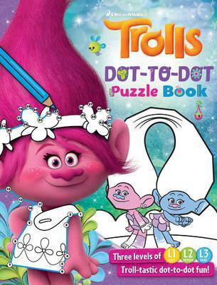 Trolls - Dot-to-Dot Puzzle Book