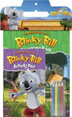 Blinky Bill TV Colouring and Activity Pack