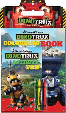 Dinotrux Colouring and Activity Pack