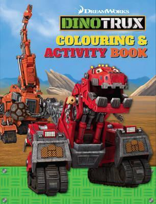 Dinotrux Colouring and Puzzle Book