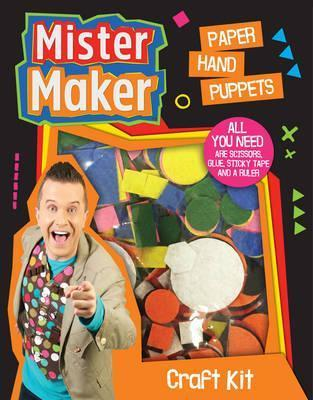 Mister Maker Craft Kit Paper Hand Puppets