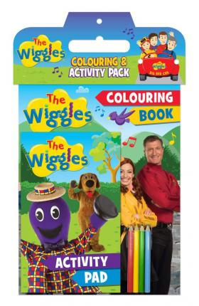 The Wiggles Colouring & Activity Pack