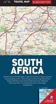 Globetrotter travel map South Africa