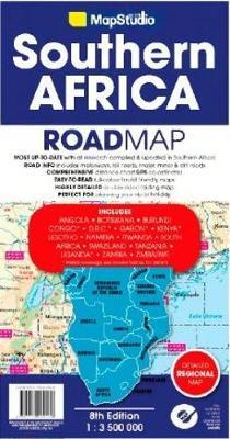 Southern Africa road map : Map Studio : 9781770269569