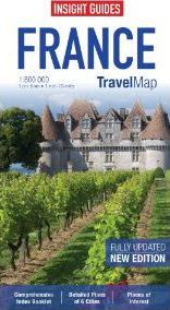 Insight Travel Map: France