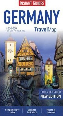 Insight Guides Travel Maps Germany