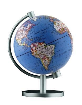 Insight Guides Globe Dual Political / Physical Illuminated Globe