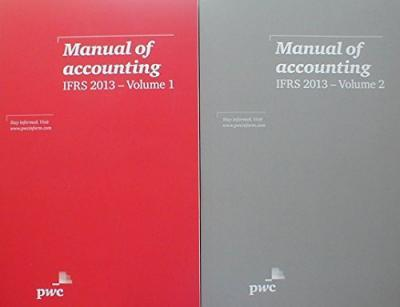 Manual of Accounting, IFRS 2013