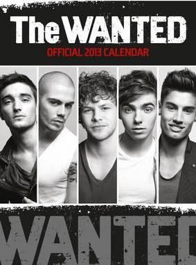 Official The Wanted 2013 Calendar