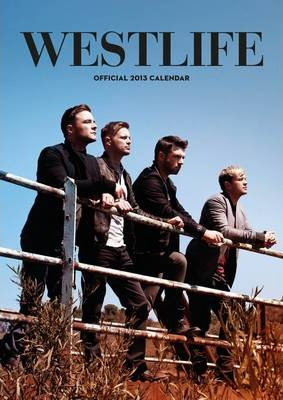 Official Westlife 2013 Calendar