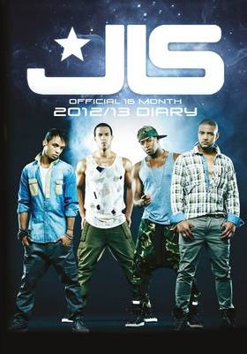 Official JLS (A6) 2013 Diary
